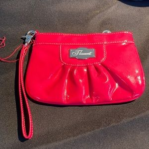 Hot Pink Patent Wristlet by Flaunt💕